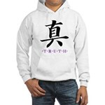 Truth (Kanji Character) Hooded Sweatshirt