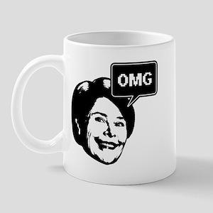 Laura Bush OMG Mug