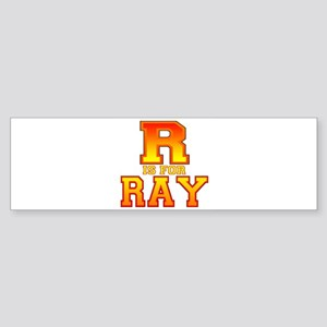 R is for Ray Bumper Sticker