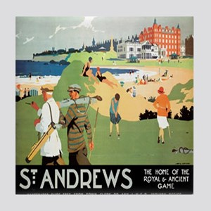 ST. ANDREW'S GOLF CLUB 2 Tile Coaster