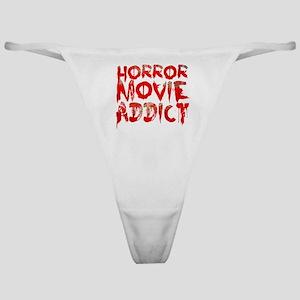 Horror movie addict Classic Thong