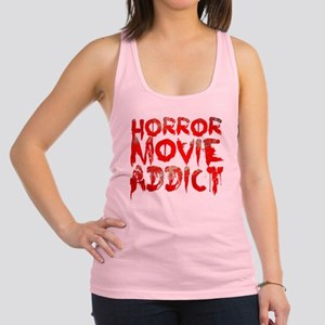 Horror movie addict Racerback Tank Top