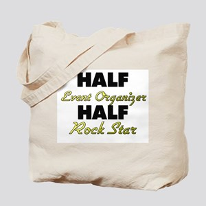 Half Event Organizer Half Rock Star Tote Bag