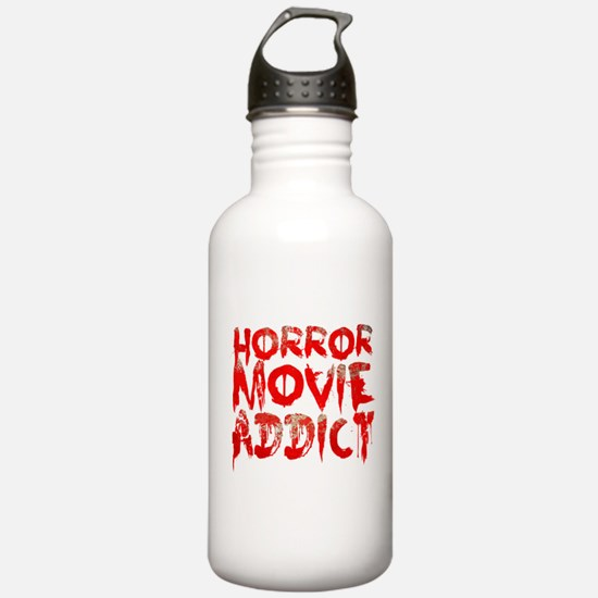 Horror movie addict Water Bottle