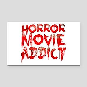 Horror movie addict Rectangle Car Magnet