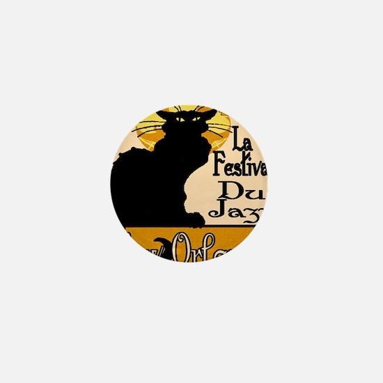 Jazz Music Chat Noir 2015 Mini Button