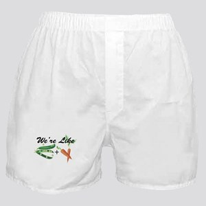 Like Peas and Carrots Boxer Shorts