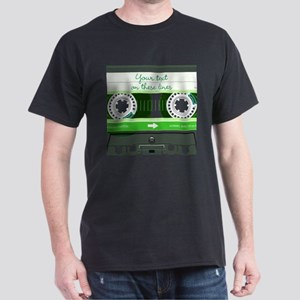 Cassette Tape - Green Dark T-Shirt