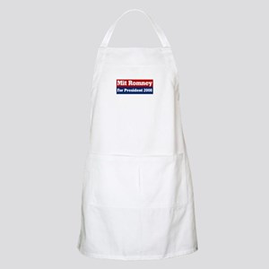 Mit Romney for President  BBQ Apron