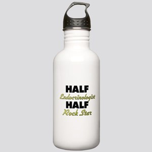 Half Endocrinologist Half Rock Star Water Bottle