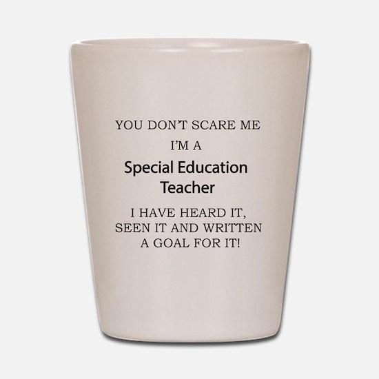 Cute Educational Shot Glass
