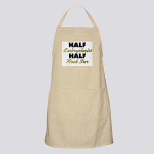 Half Embryologist Half Rock Star Apron