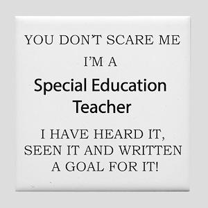 Special Education Teacher Tile Coaster