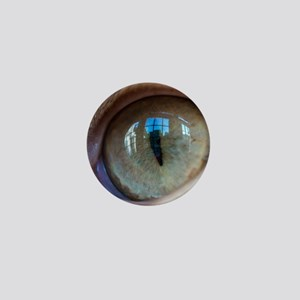 Cat's Eye Mini Button