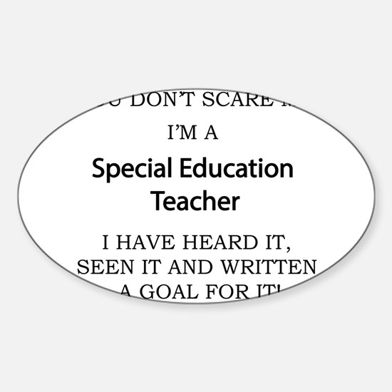 Special Education Teacher Decal