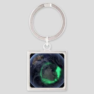 Aurora borealis Keychains