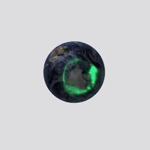 Aurora borealis Mini Button