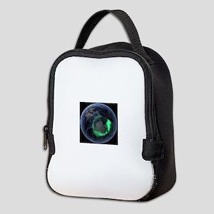 Aurora borealis Neoprene Lunch Bag