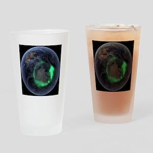 Aurora borealis Drinking Glass