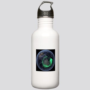Aurora borealis Water Bottle