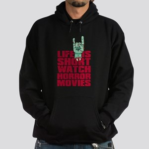Life is short Hoodie (dark)