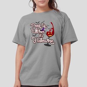 Hallowine Womens Comfort Colors Shirt