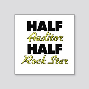 Half Auditor Half Rock Star Sticker