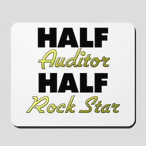 Half Auditor Half Rock Star Mousepad