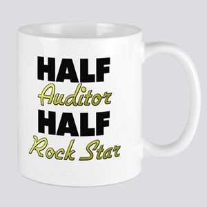 Half Auditor Half Rock Star Mugs