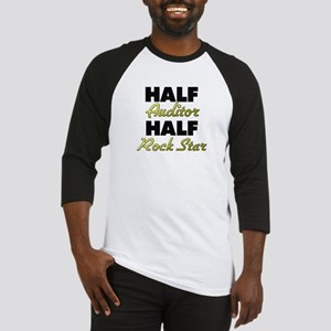 Half Auditor Half Rock Star Baseball Jersey