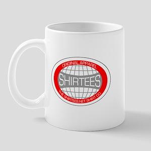Shirtees Globe Mug
