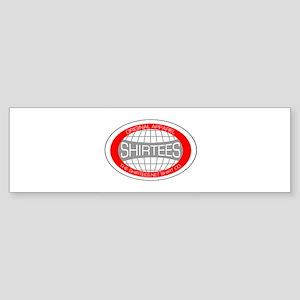 Shirtees Globe Bumper Sticker