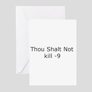 Kill -9 Greeting Cards (Pk of 10)