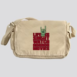 Life is short Messenger Bag