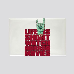 Life is short Rectangle Magnet