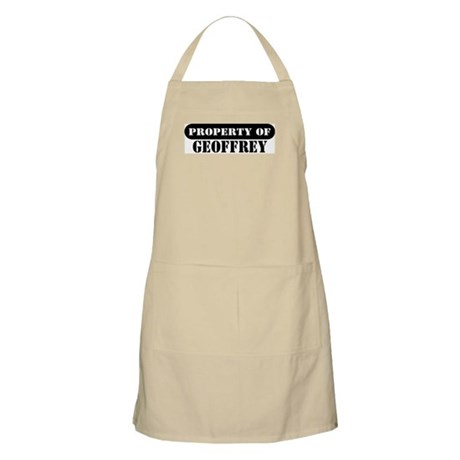 Property of Geoffrey BBQ Apron