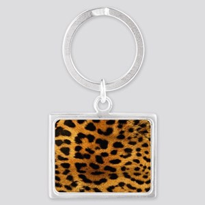 hot leopard print fashion Landscape Keychain