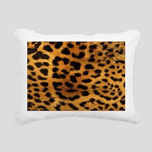 hot leopard print fashio Rectangular Canvas Pillow