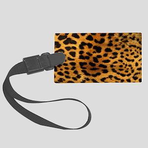 hot leopard print fashion Large Luggage Tag