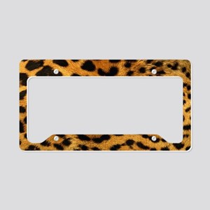 hot leopard print fashion License Plate Holder