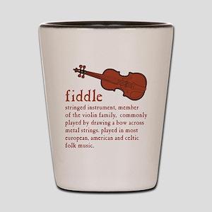 Fiddle Definition T-Shirt Shot Glass