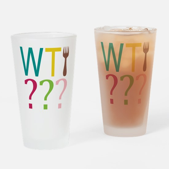 WTFork Drinking Glass