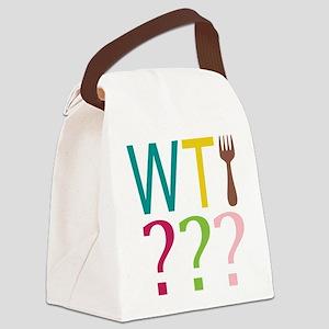 WTFork Canvas Lunch Bag