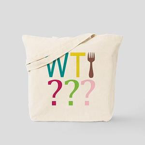 WTFork Tote Bag