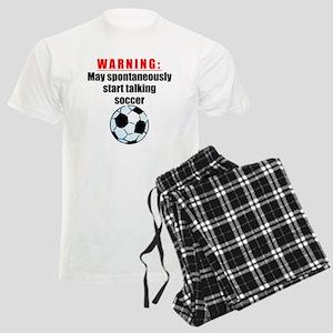 Spontaneous Soccer Talk pajamas