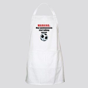Spontaneous Soccer Talk Apron