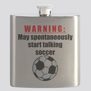 Spontaneous Soccer Talk Flask