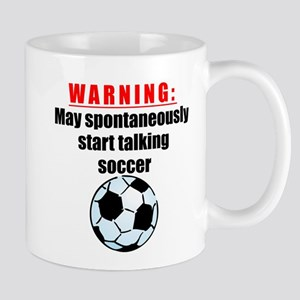 Spontaneous Soccer Talk Mugs