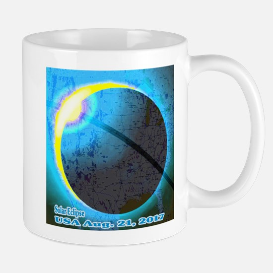 Solar Eclipse USA 2017 Mug