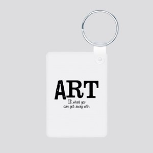 ART is... Aluminum Photo Keychain